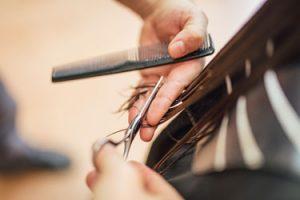 hairdresser cutting hair - Kerry Skillnet
